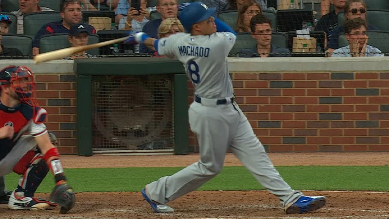 Manny Machado se vistió de héroe en su primera serie de playoffs con los  Dodgers dfefbfe60da