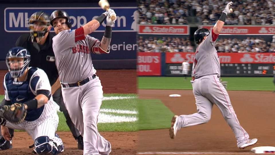 Vazquez's solo home run