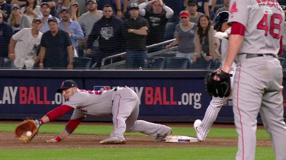 Nunez nabs Torres, Sox clinch