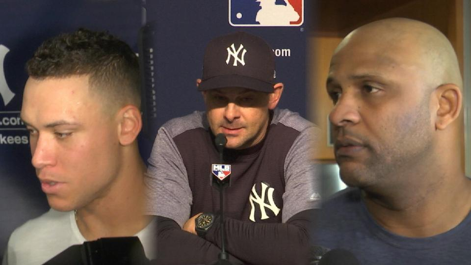 Yankees on Game 4 loss