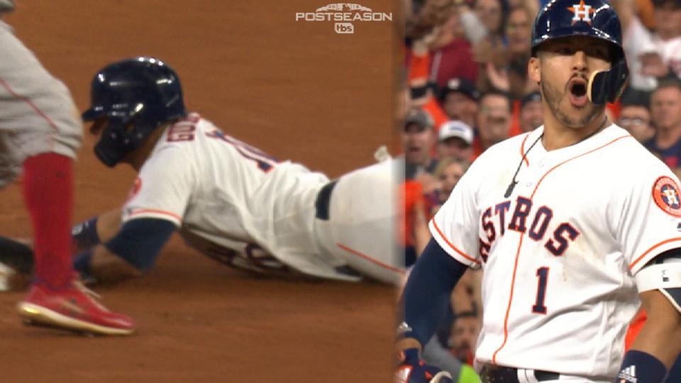 Astros regain lead in the 5th