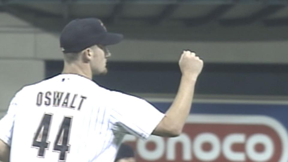 Oswalt goes the distance