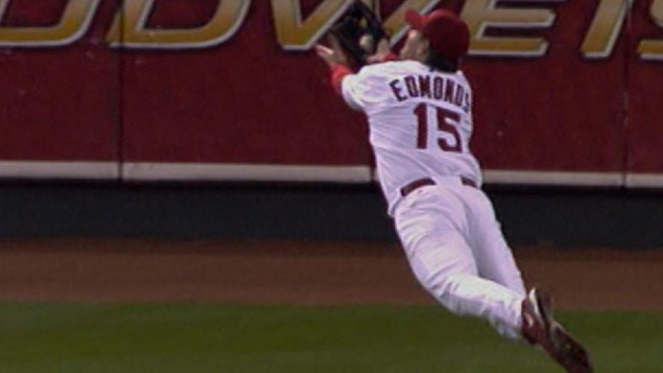 Edmonds' amazing catch