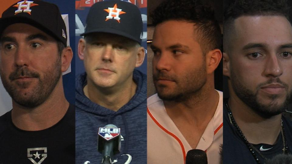 Astros on ALCS Game 5 loss