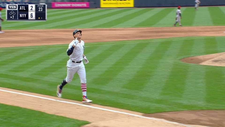 Judge's 24th home run