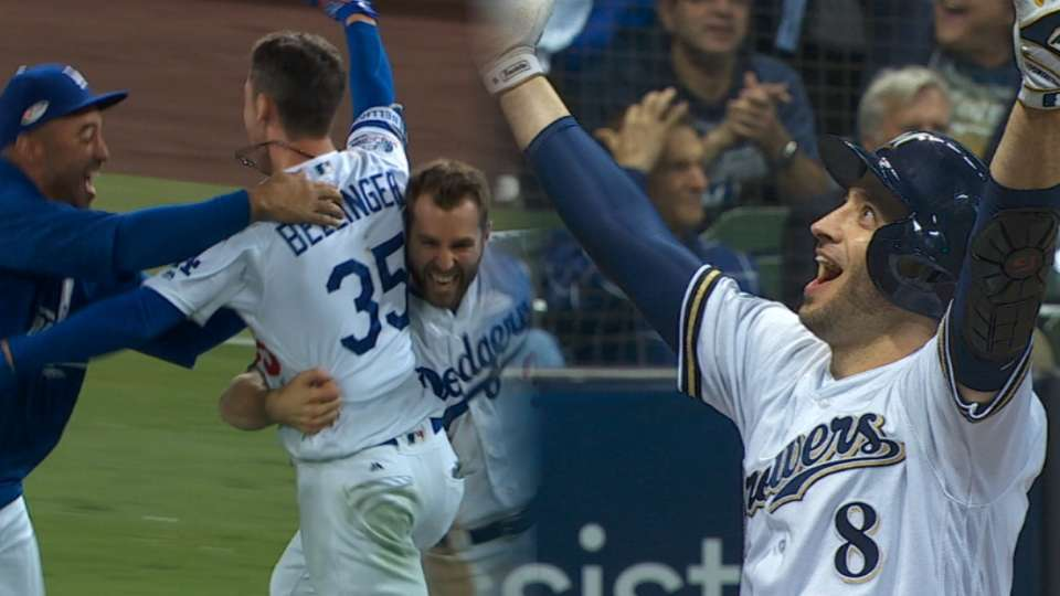 Dodgers, Brewers set for Game 7