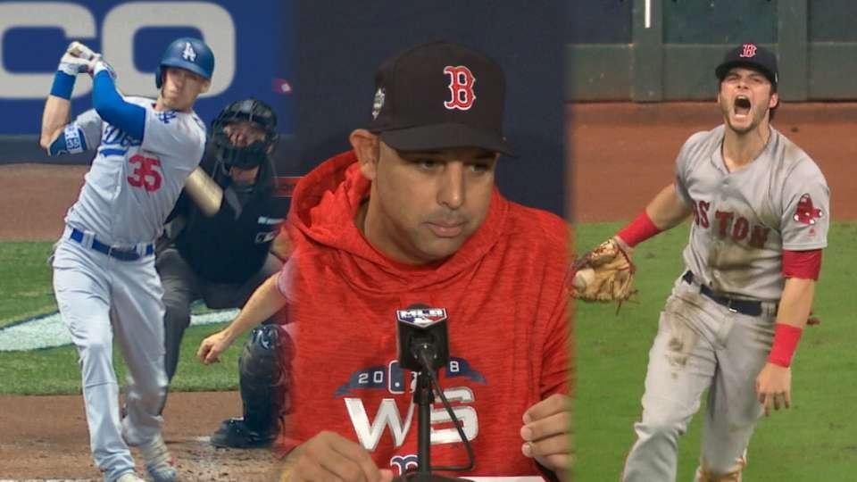 Cora on Dodgers, World Series
