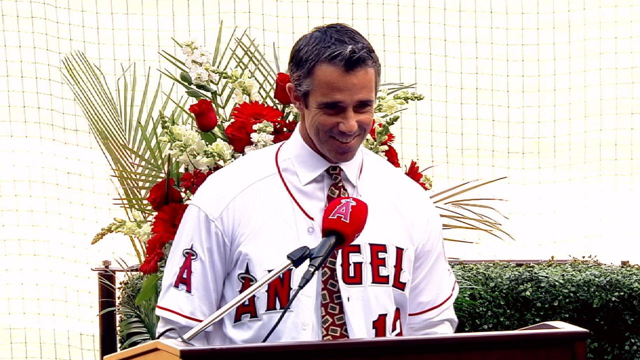 Brad Ausmus Introduced As Angels Manager Los Angeles Angels