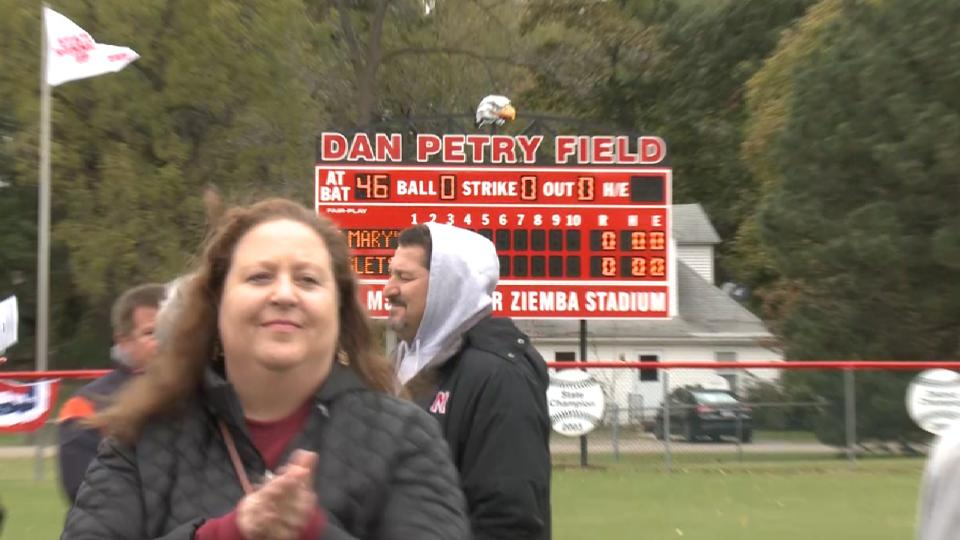 Petry is honored with field name