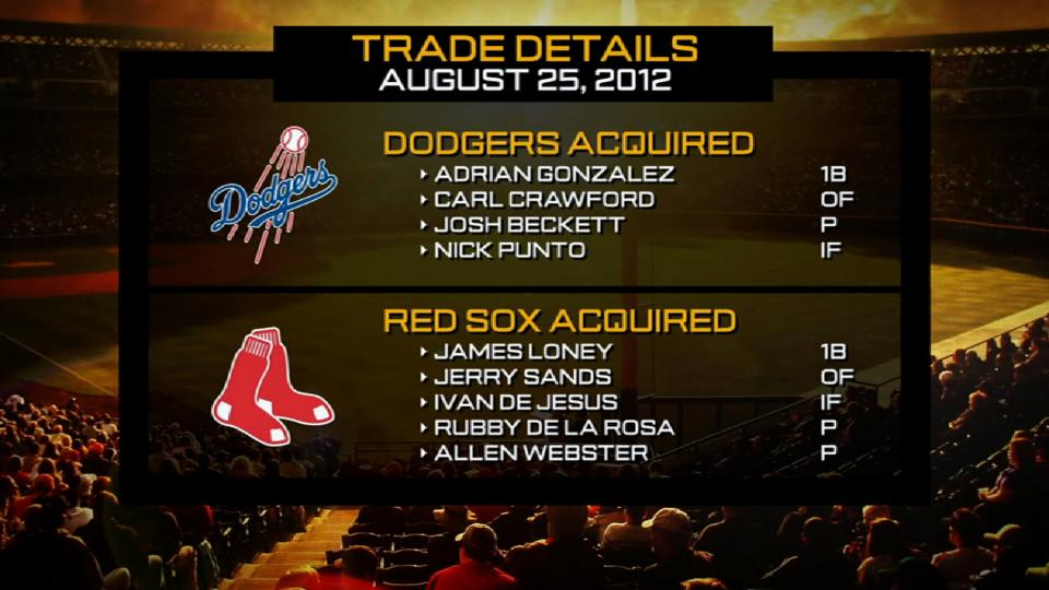 Red Sox-Dodgers trade from '12