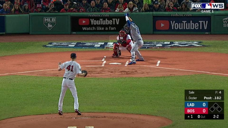 Sale starts WS with a strikeout