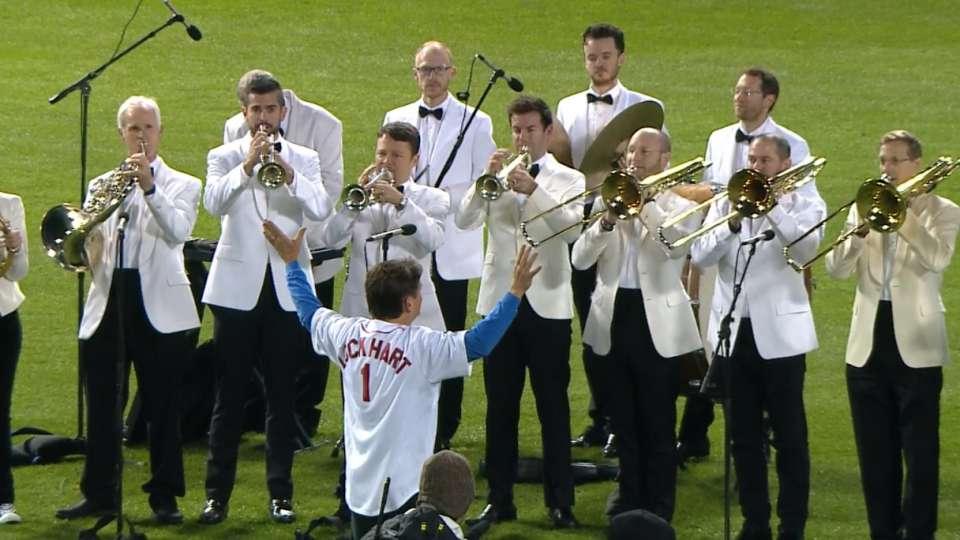 Boston Pops play Game 2 anthem