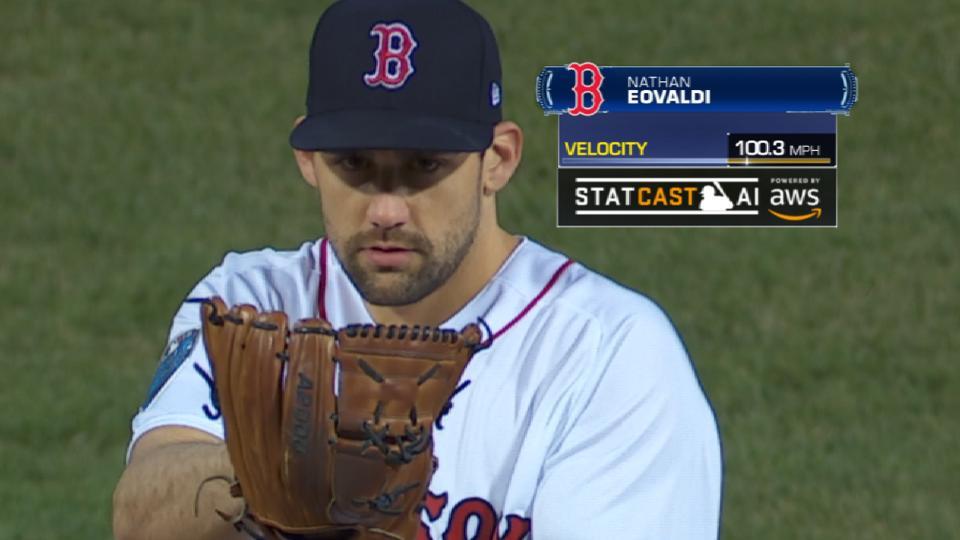 Statcast: Eovaldi throws heat