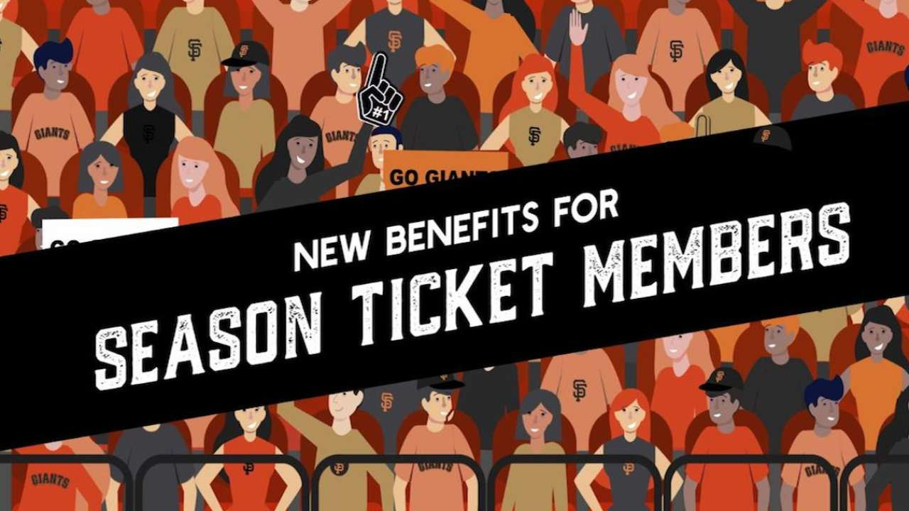 member benefits | season tickets | san francisco giants