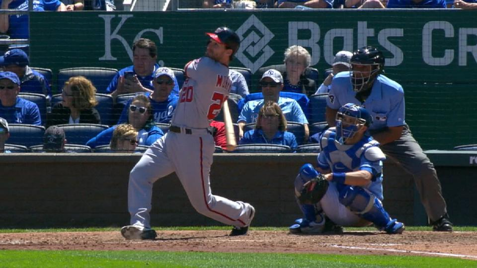 Murphy places 2nd in NL MVP vote