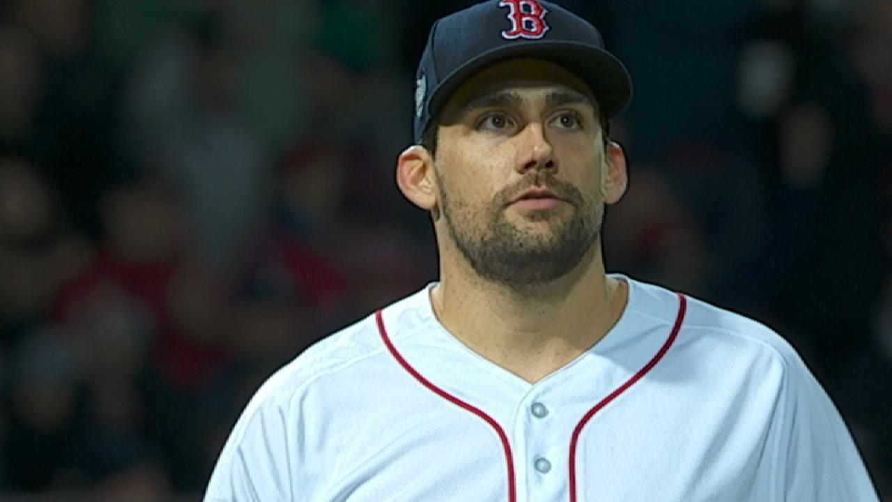 Eovaldi's WS outings out of 'pen