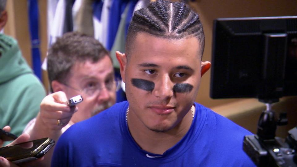 Machado on losing World Series