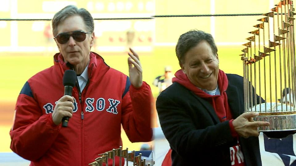 Henry, Werner thank Red Sox fans