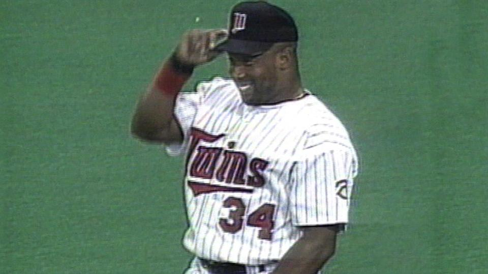Twins: Kirby Puckett, No. 34