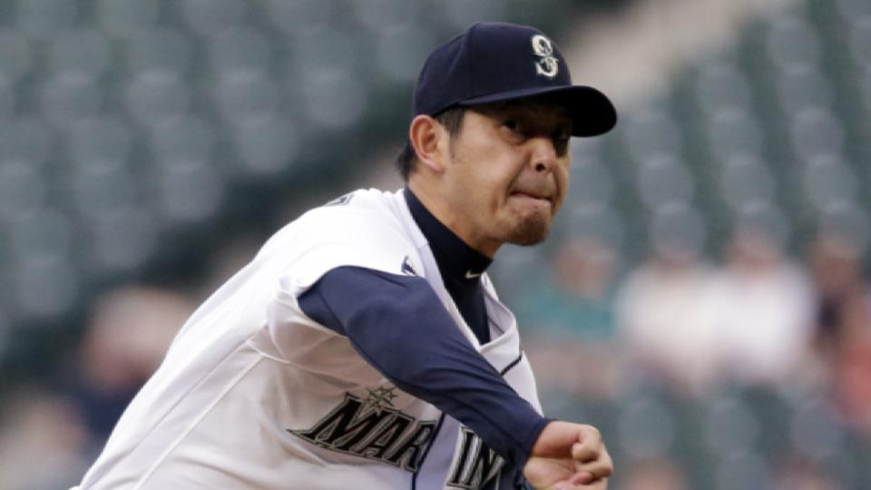 Iwakuma enters free agency