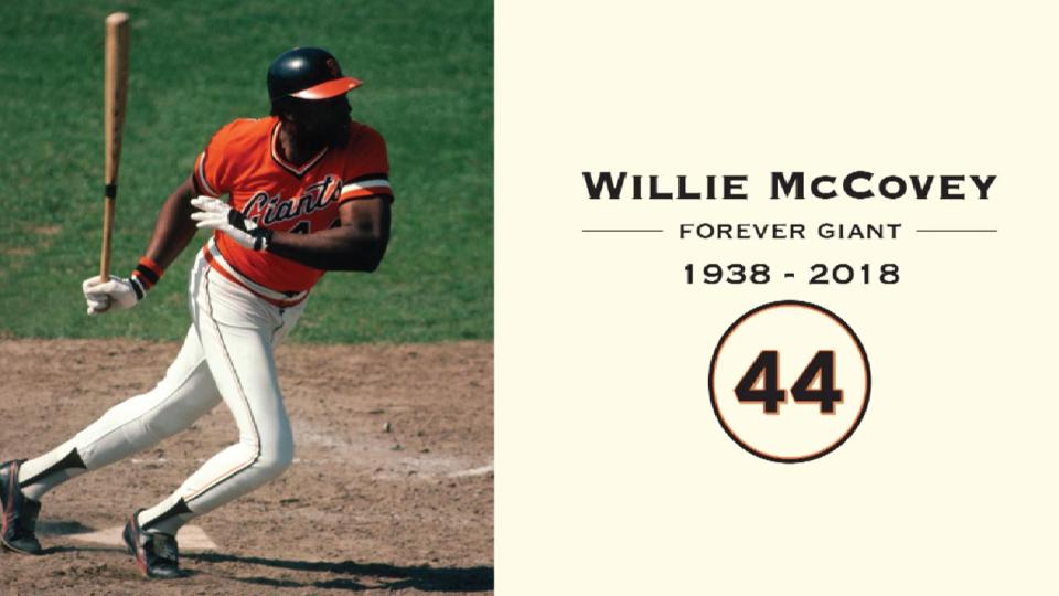 Giants honor Willie McCovey