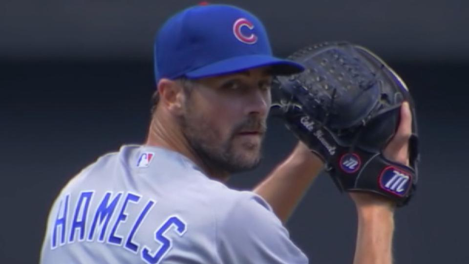 Cubs pick up Hamels' option