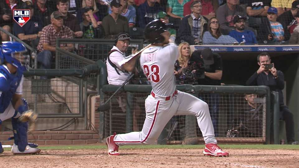Austin Listi's 3-run homer