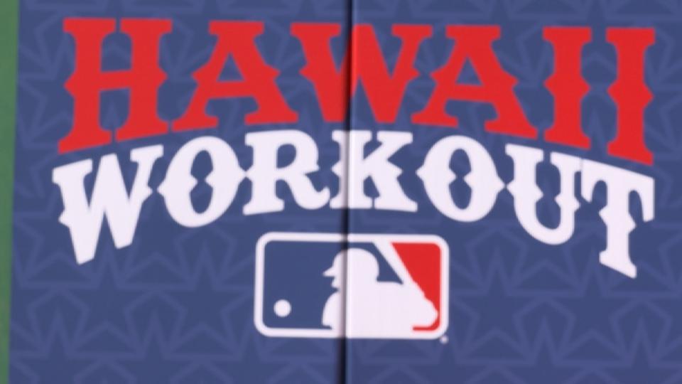 MLB stars Play Ball in Hawaii