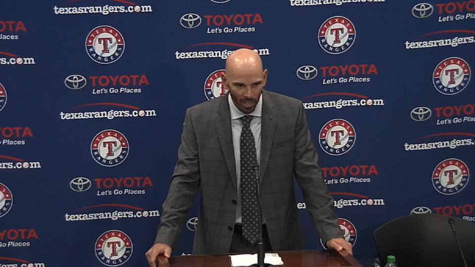 Rangers introduce Woodward