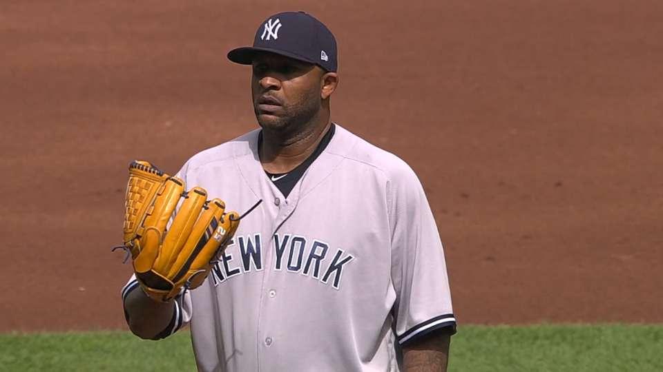 Sabathia re-signs with Yankees