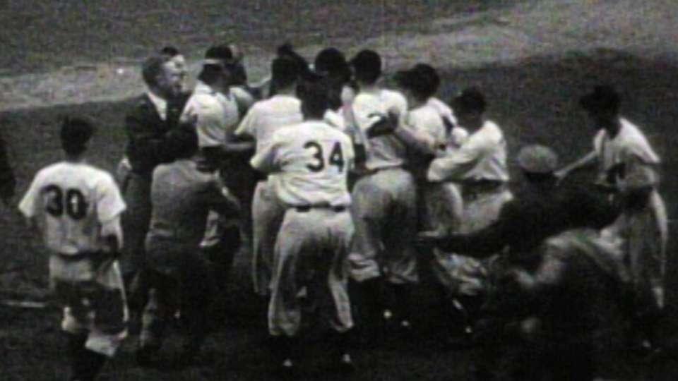 Yankees win 1947 World Series