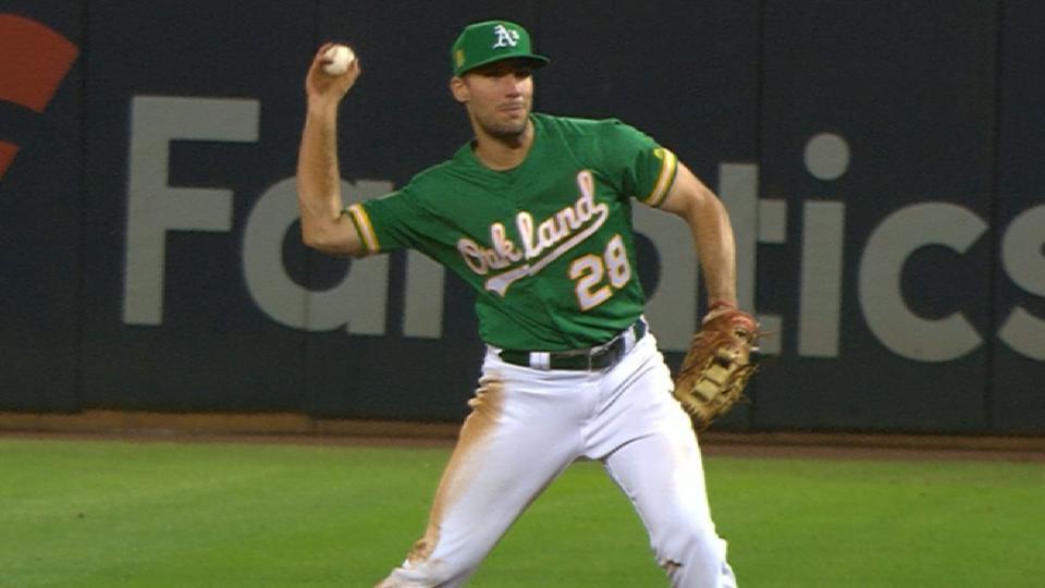 Matt Olson on winning Gold Glove