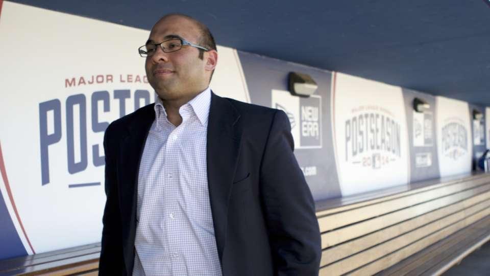 Giants hire Zaidi