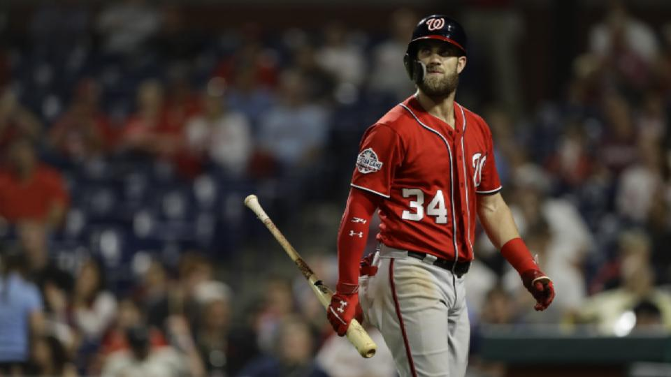 Nats' pursuit of Bryce Harper