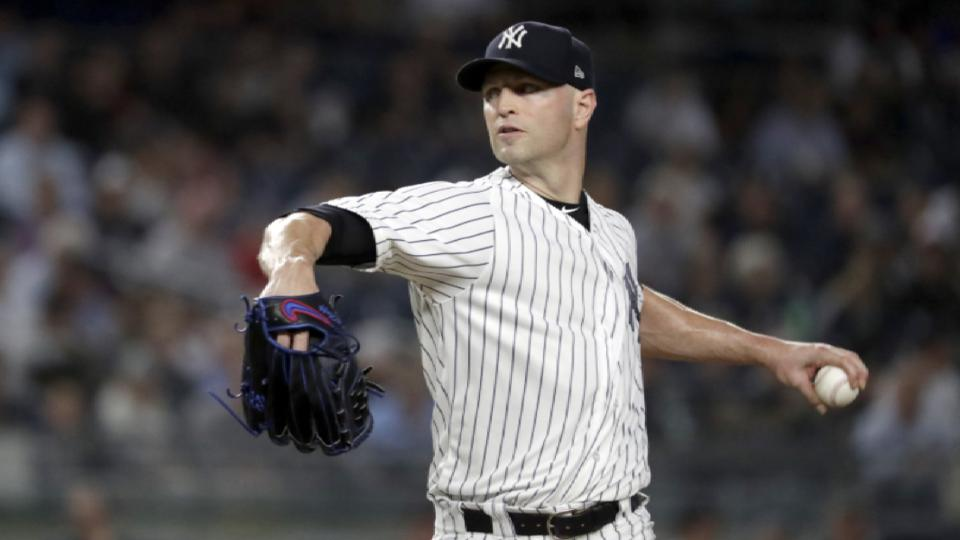 Blue Jays' interest in J.A. Happ
