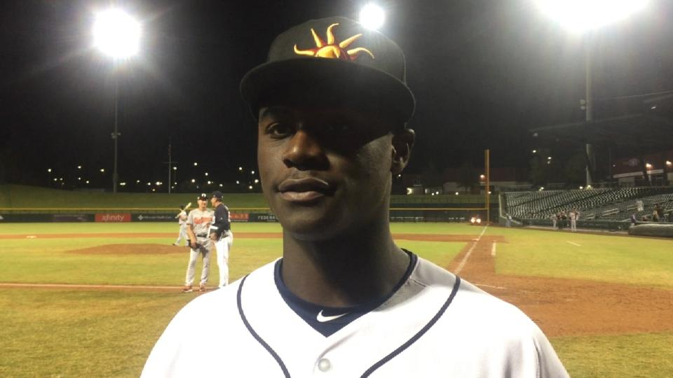 Daz Cameron on his 3-hit game