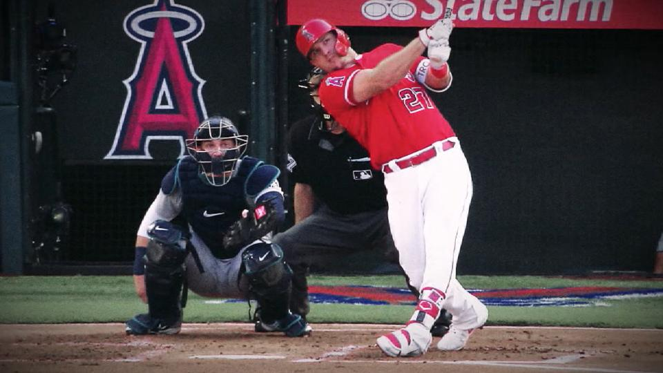 Trout gets sixth Silver Slugger