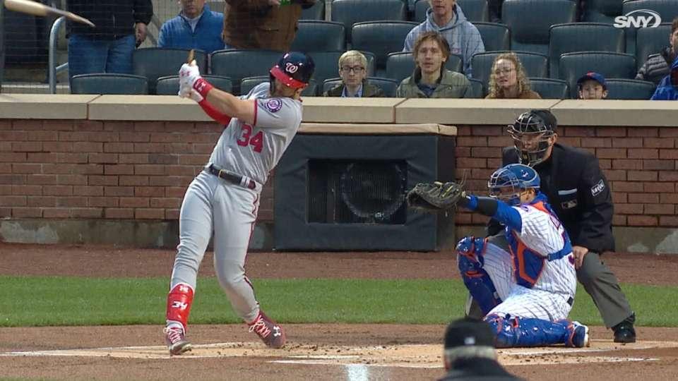 Harper's broken-bat home run