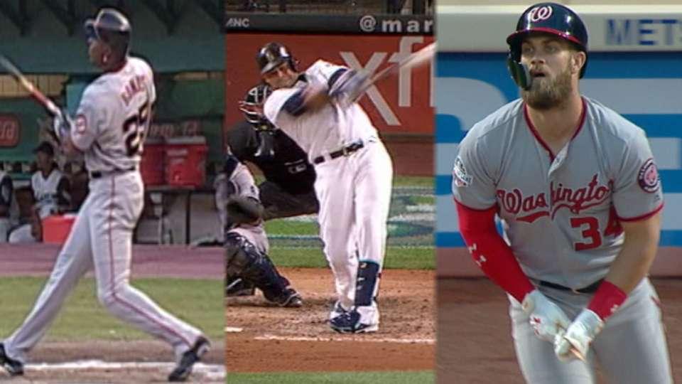 Memorable broken-bat home runs