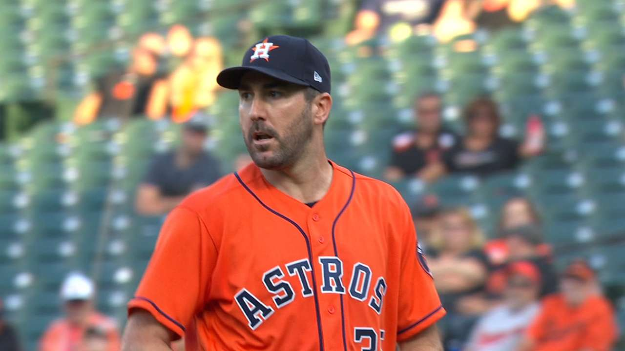 Verlander second for AL Cy Young