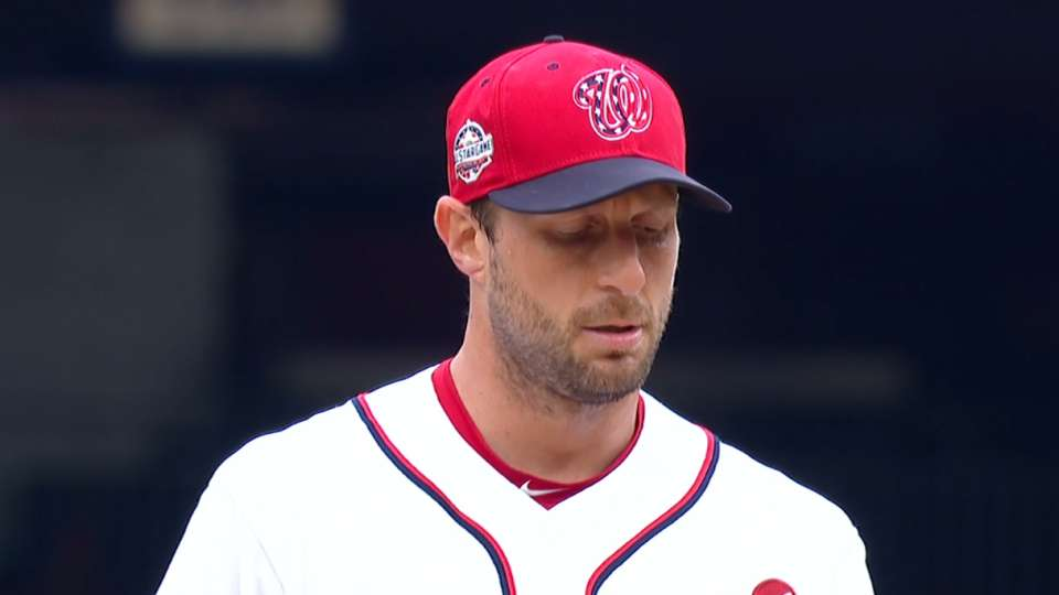 Scherzer second for NL Cy Young