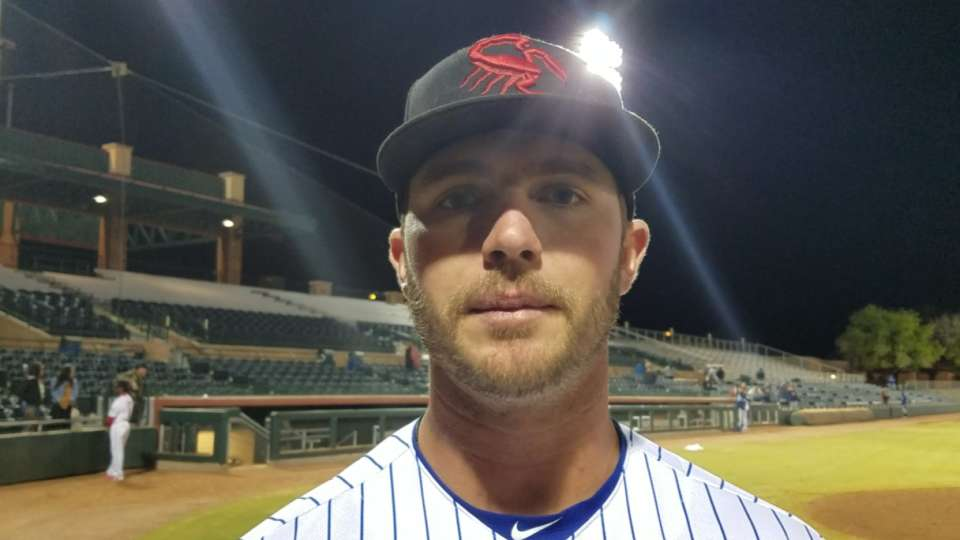 Alonso on home run, 4-hit game