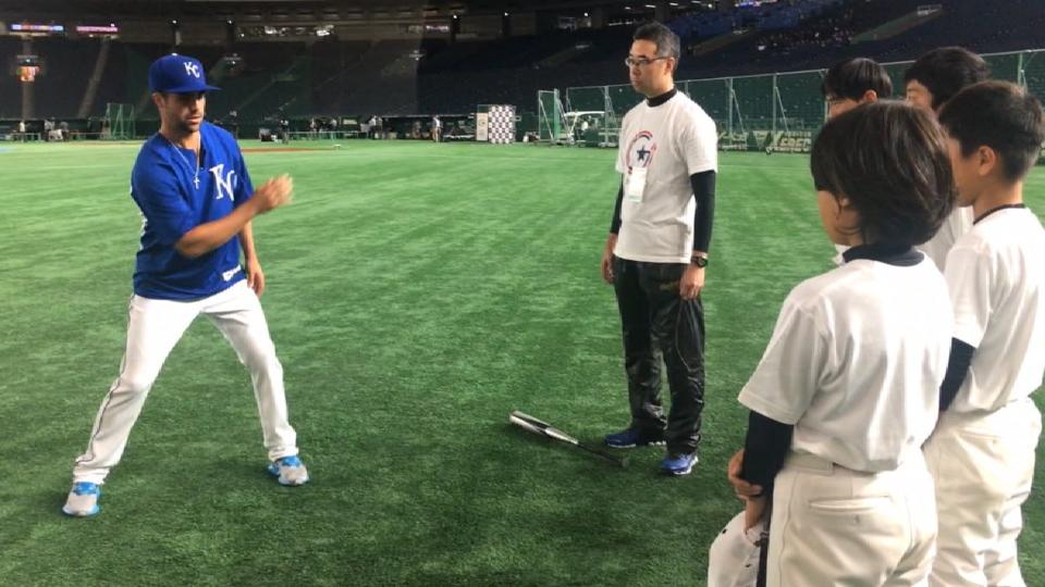 Play Ball clinic in Japan