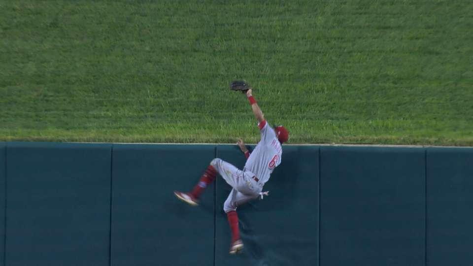 Hamilton takes away a home run