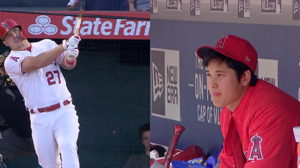 Guardado on Trout, Ohtani