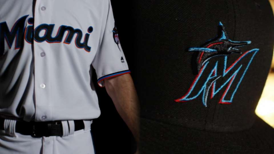 Marlins' new uniforms