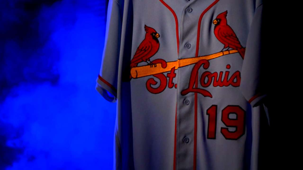 bf58e6a1 2019 Jersey Announcement | St. Louis Cardinals