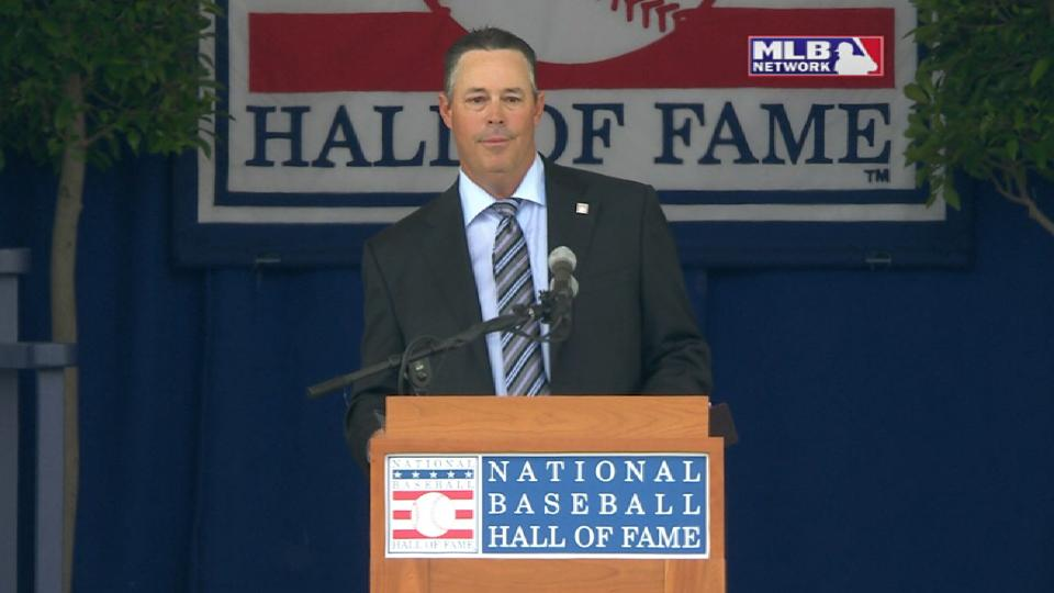 Maddux enters the Hall of Fame