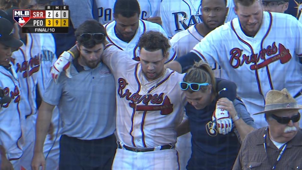 Davidson on walk-off, injury