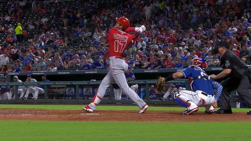 Ohtani's 2-homer, 4-hit game